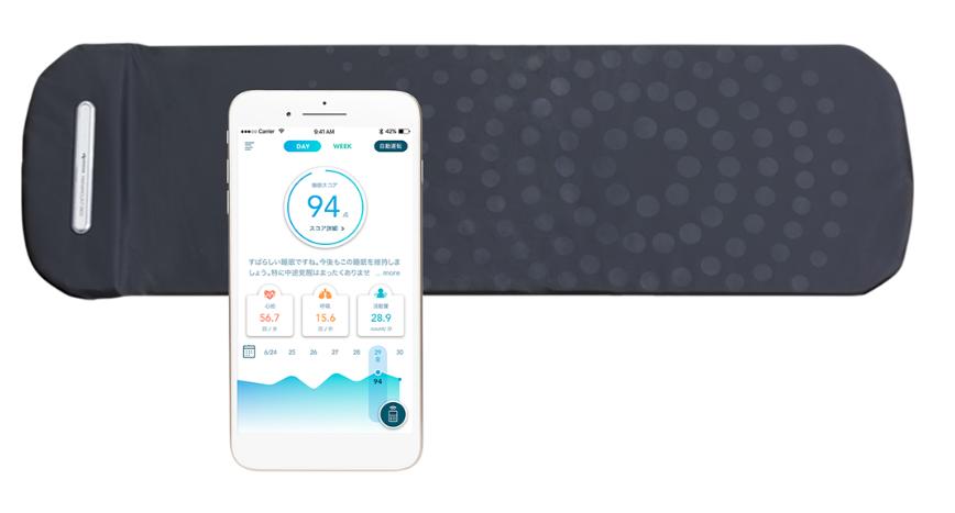 Active Sleepの評判 ③心拍・呼吸・脈拍などを計測し睡眠を点数化